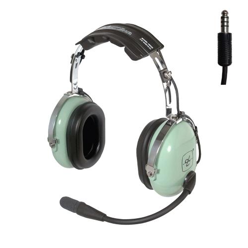 David Clark Headset - Green